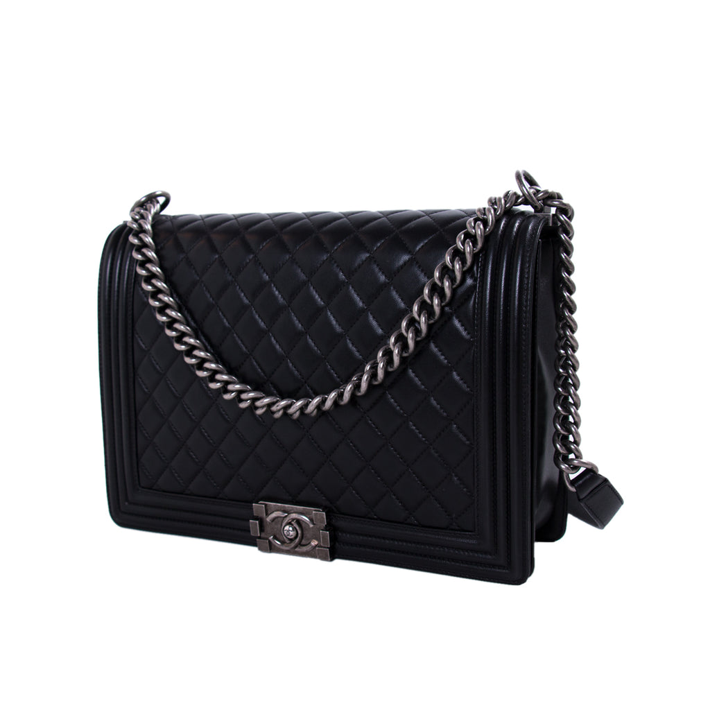 Chanel Large Boy Bag Bags Chanel - Shop authentic new pre-owned designer brands online at Re-Vogue