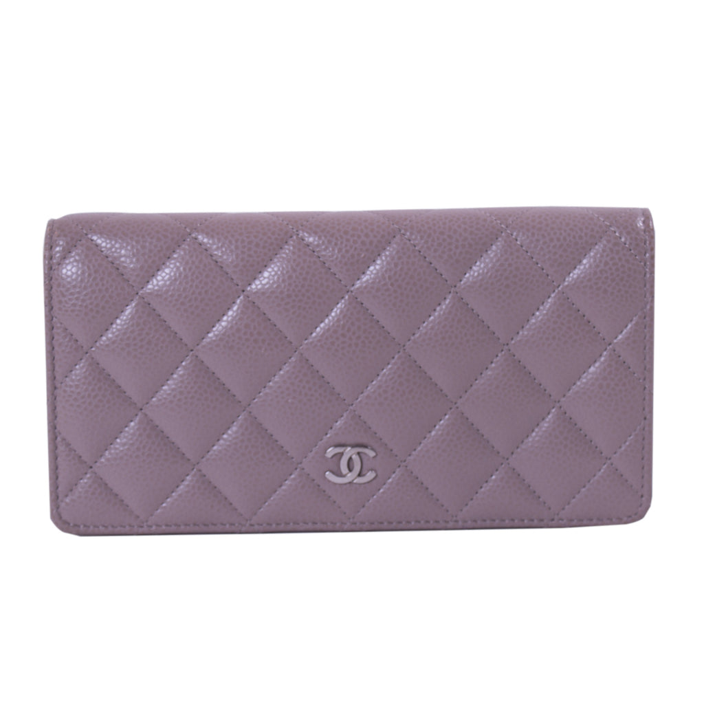 84014502bf Shop authentic Chanel Quilted CC Long Flap Wallet at Re-Vogue for ...