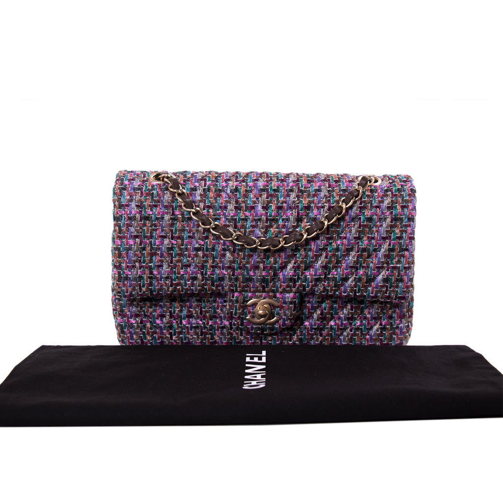 Chanel Medium Multicolor Double Flap Bag Bags Chanel - Shop authentic new pre-owned designer brands online at Re-Vogue
