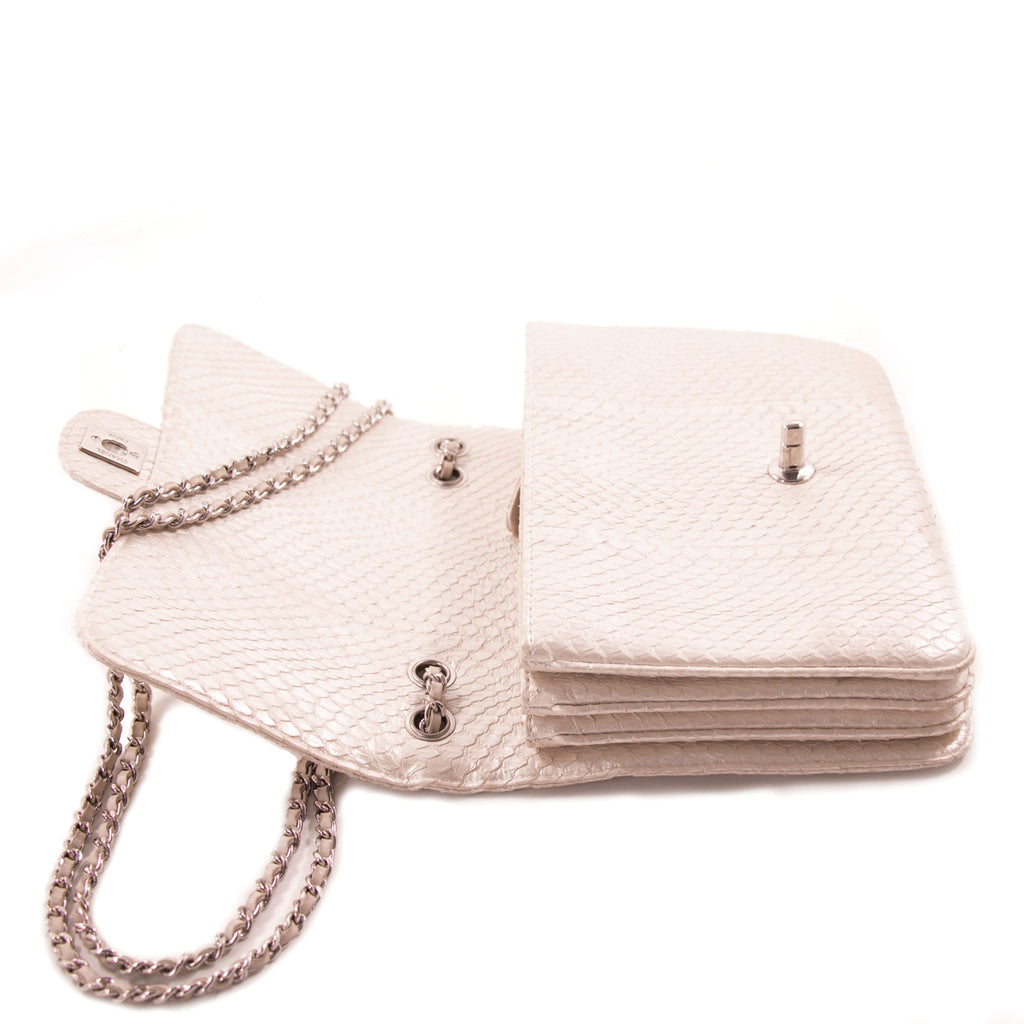 Chanel Python Mini Flap Bag Bags Chanel - Shop authentic new pre-owned designer brands online at Re-Vogue