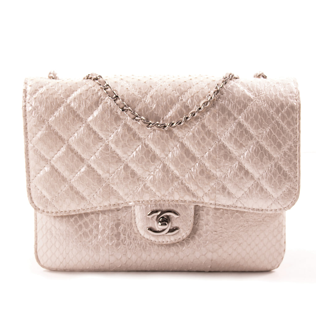 b1df044a251d Shop authentic Chanel Python Mini Flap Bag at revogue for just USD ...