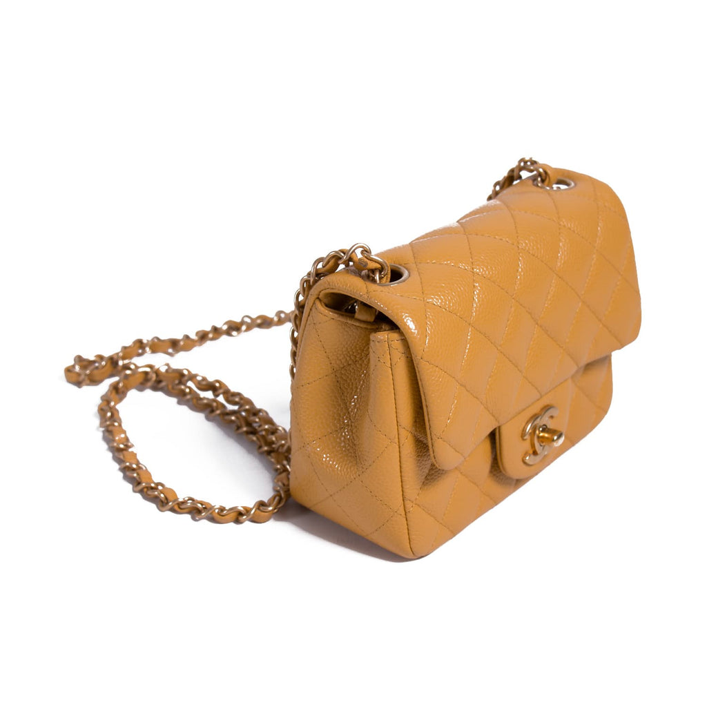 Chanel Classic Mini Square Flap Bag Bags Chanel - Shop authentic new pre-owned designer brands online at Re-Vogue