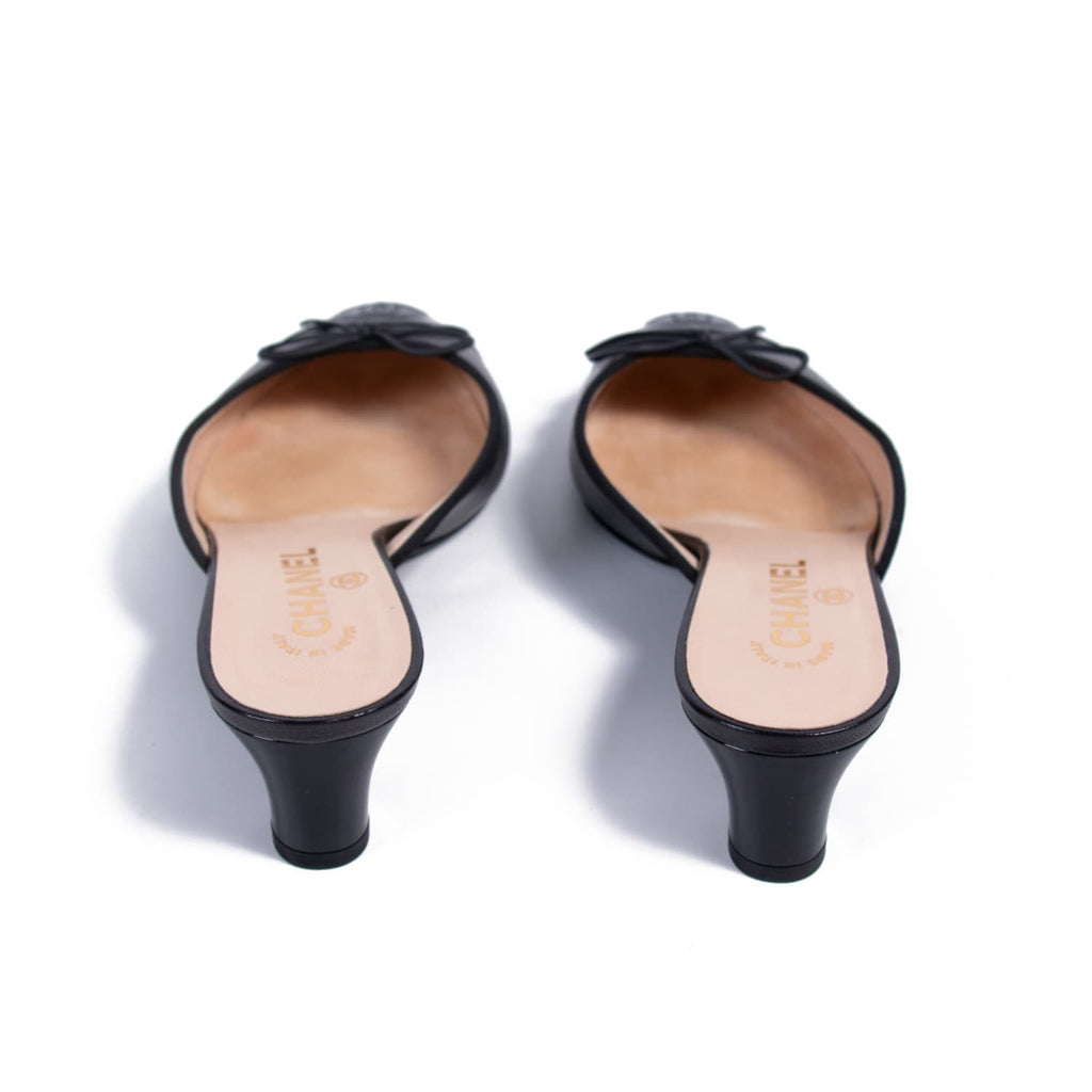 Chanel CC Cap-Toe Mules Shoes Chanel - Shop authentic new pre-owned designer brands online at Re-Vogue