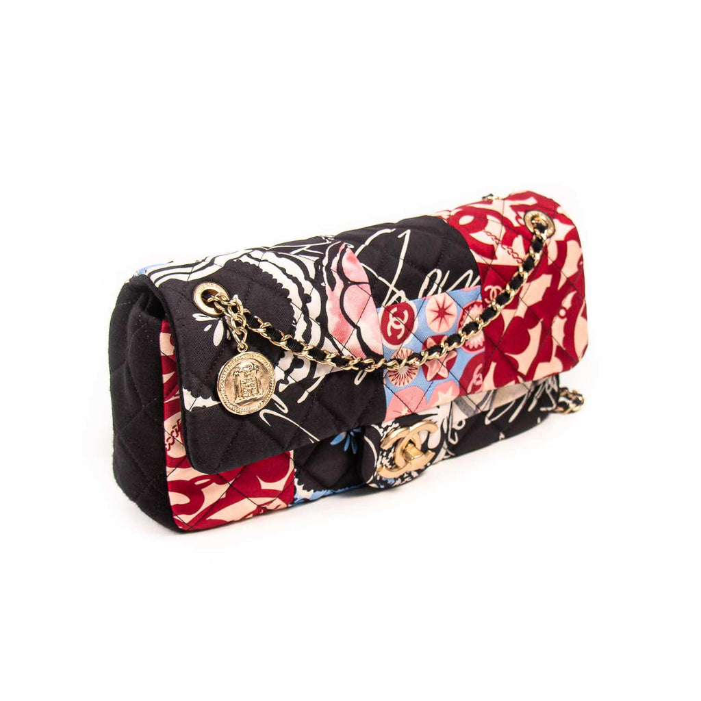 Chanel Printed Medium Single Flap Bag Bags Chanel - Shop authentic new pre-owned designer brands online at Re-Vogue