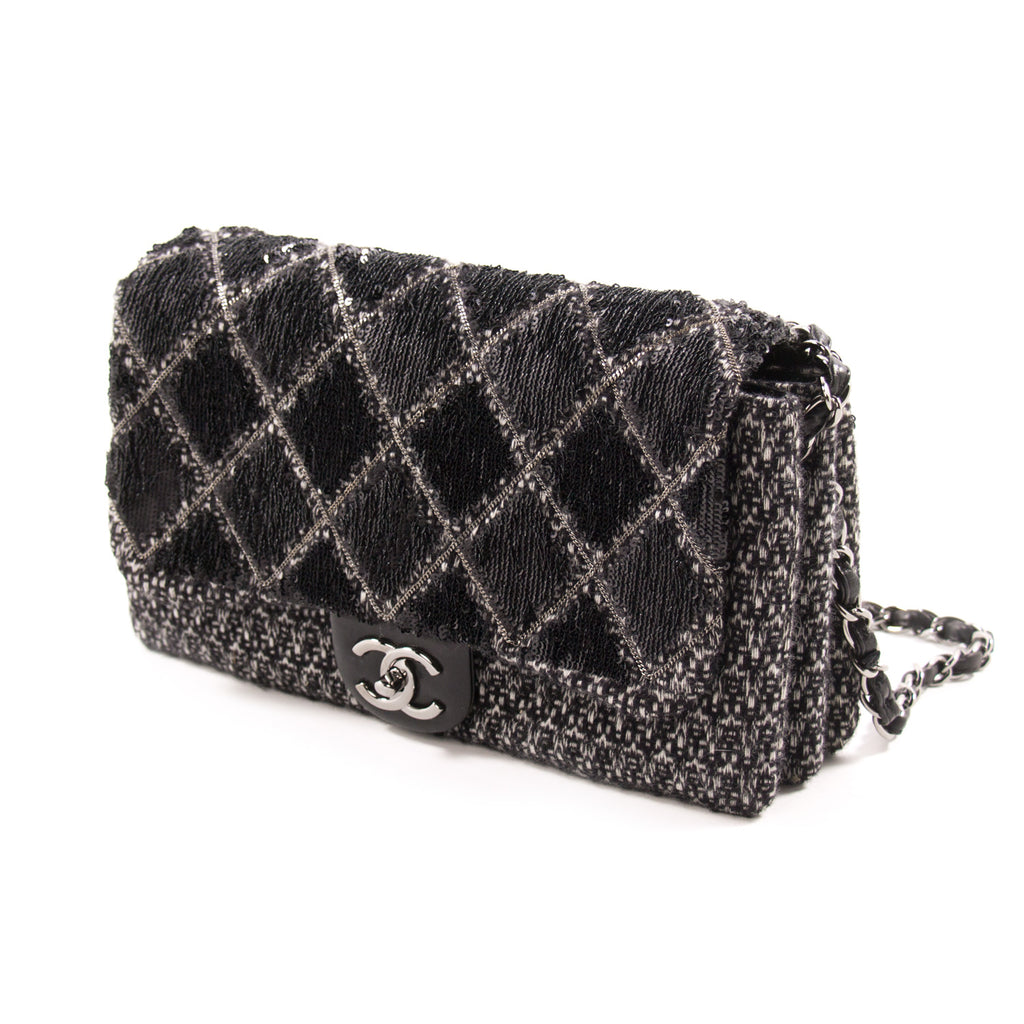 Chanel Sequin Tweed Flap Bag Bags Chanel - Shop authentic new pre-owned designer brands online at Re-Vogue
