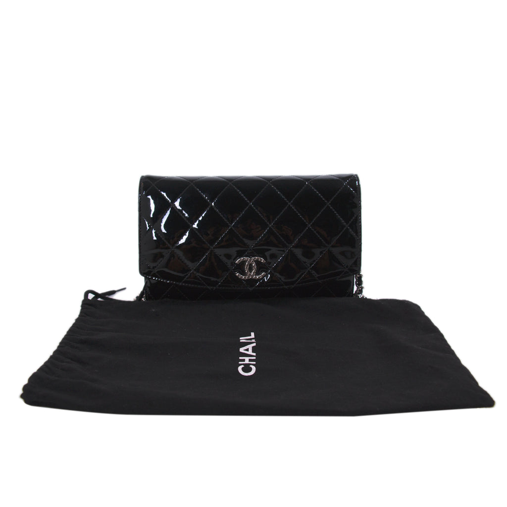 Chanel Patent Leather Wallet on Chain Bags Chanel - Shop authentic new pre-owned designer brands online at Re-Vogue