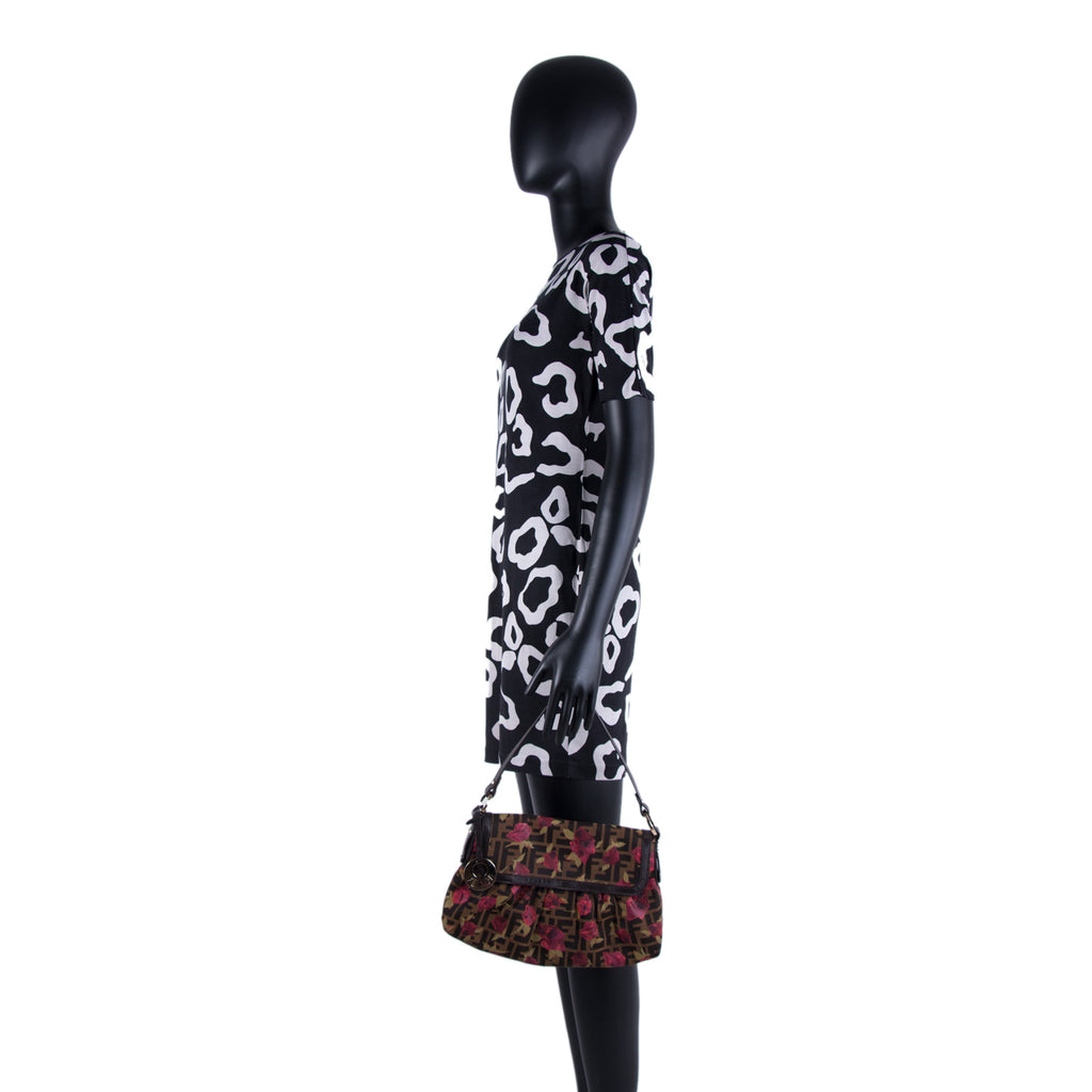 Fendi Zucca Floral Chef Bag Bags Fendi - Shop authentic new pre-owned designer brands online at Re-Vogue