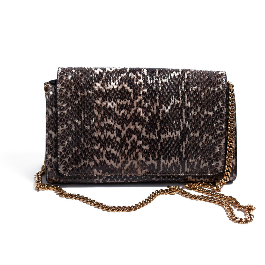 Chloé Snakeskin Medium Elle Bag Bags Chloé - Shop authentic new pre-owned designer brands online at Re-Vogue