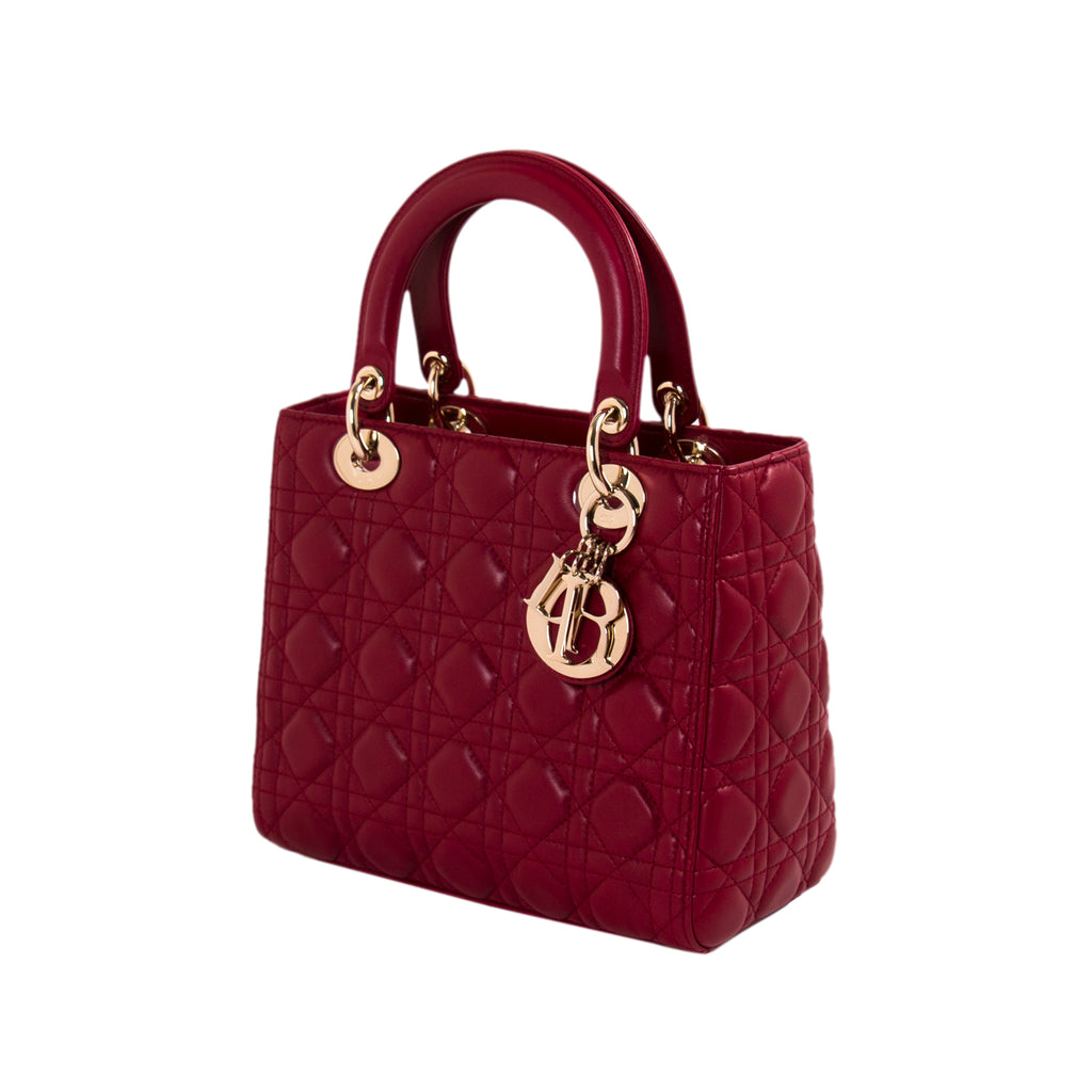 Christian Dior Medium Lady Dior Bag Bags Dior - Shop authentic new pre-owned designer brands online at Re-Vogue