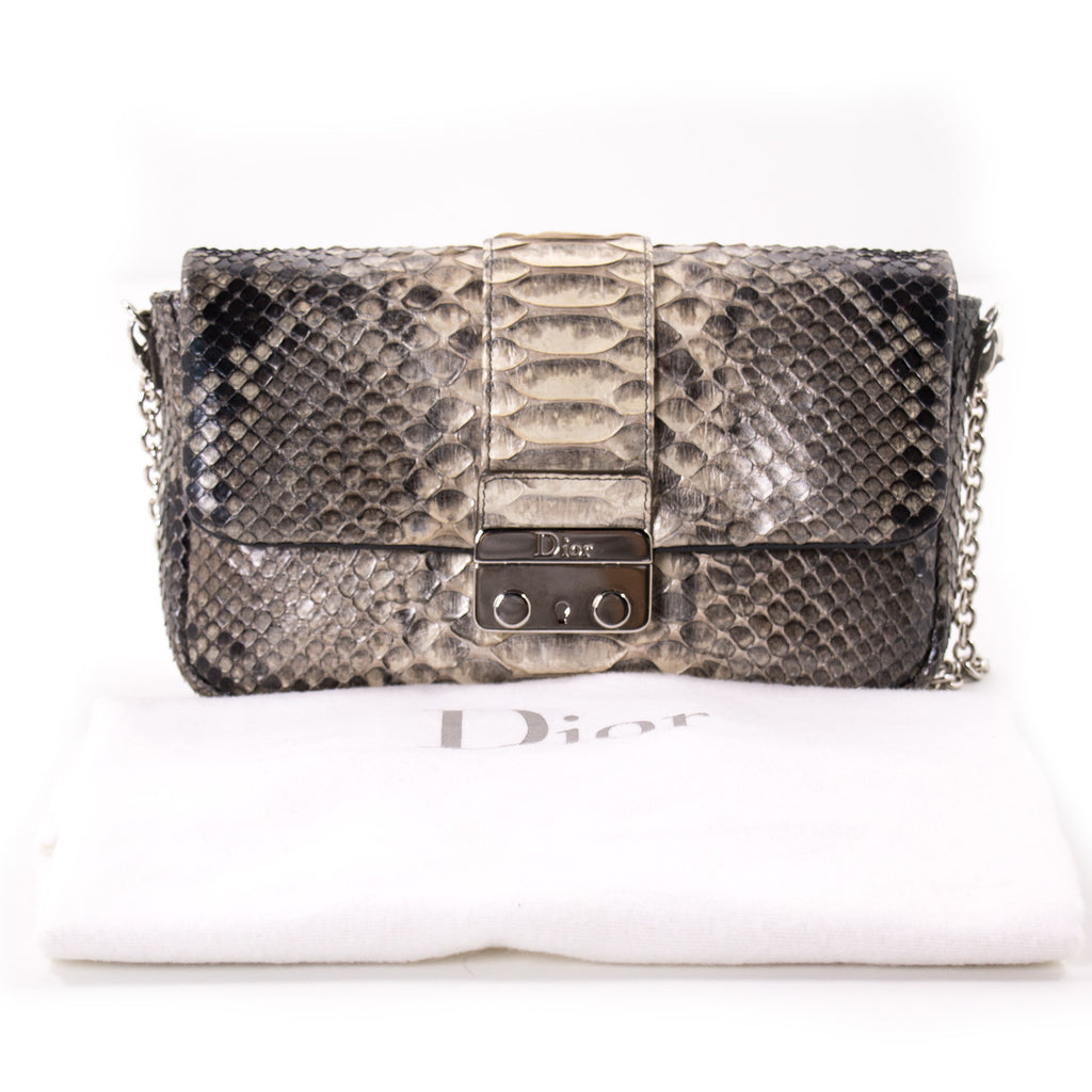 0cea2f441b9 ... Christian Dior Miss Dior Python Flap Bag Bags Dior - Shop authentic new  pre-owned ...