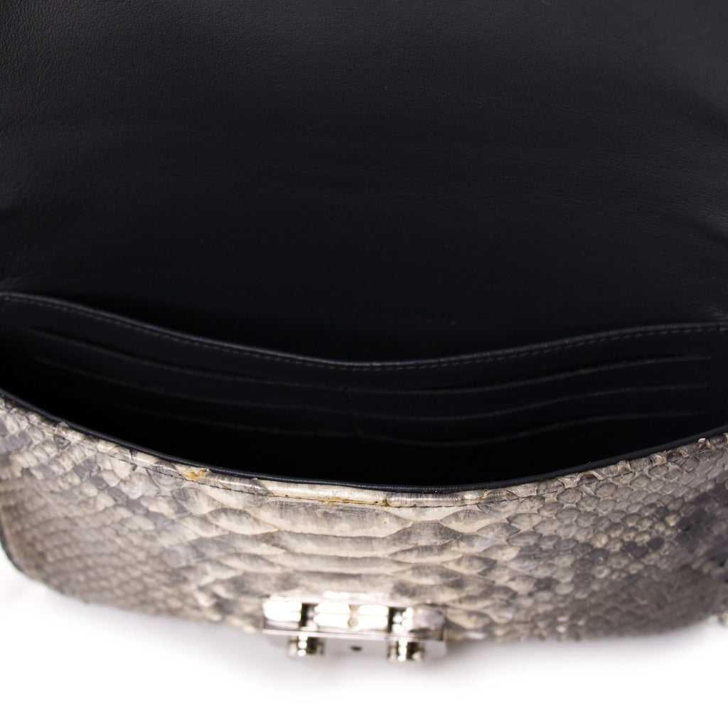 Christian Dior Miss Dior Python Flap Bag Bags Dior - Shop authentic new pre-owned designer brands online at Re-Vogue