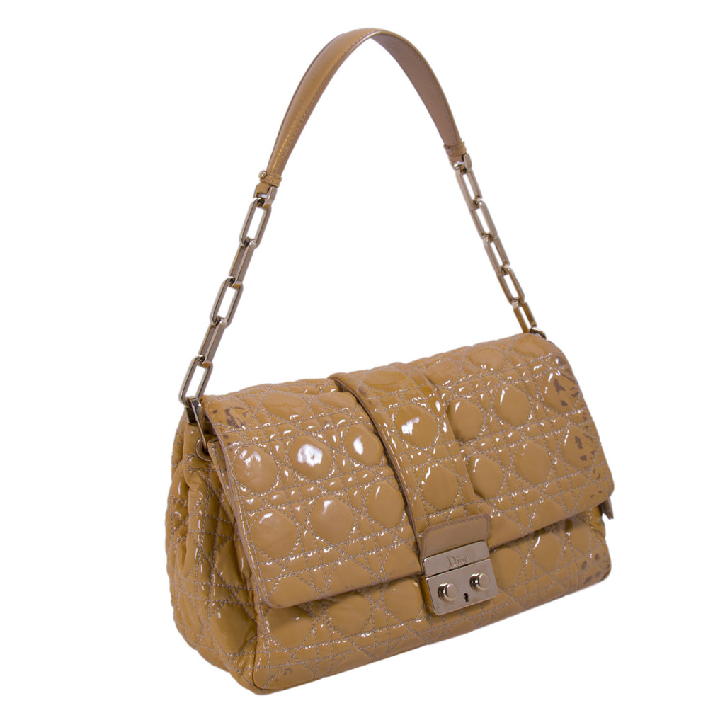 Christian Dior Cannage New Lock Flap Bag Bags Dior - Shop authentic new pre-owned designer brands online at Re-Vogue