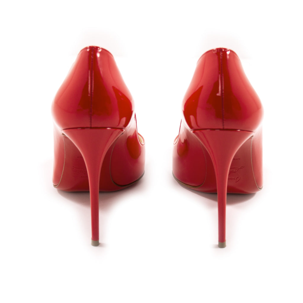 Christian Louboutin Red Pigalle Pumps Shoes Christian Louboutin - Shop authentic new pre-owned designer brands online at Re-Vogue