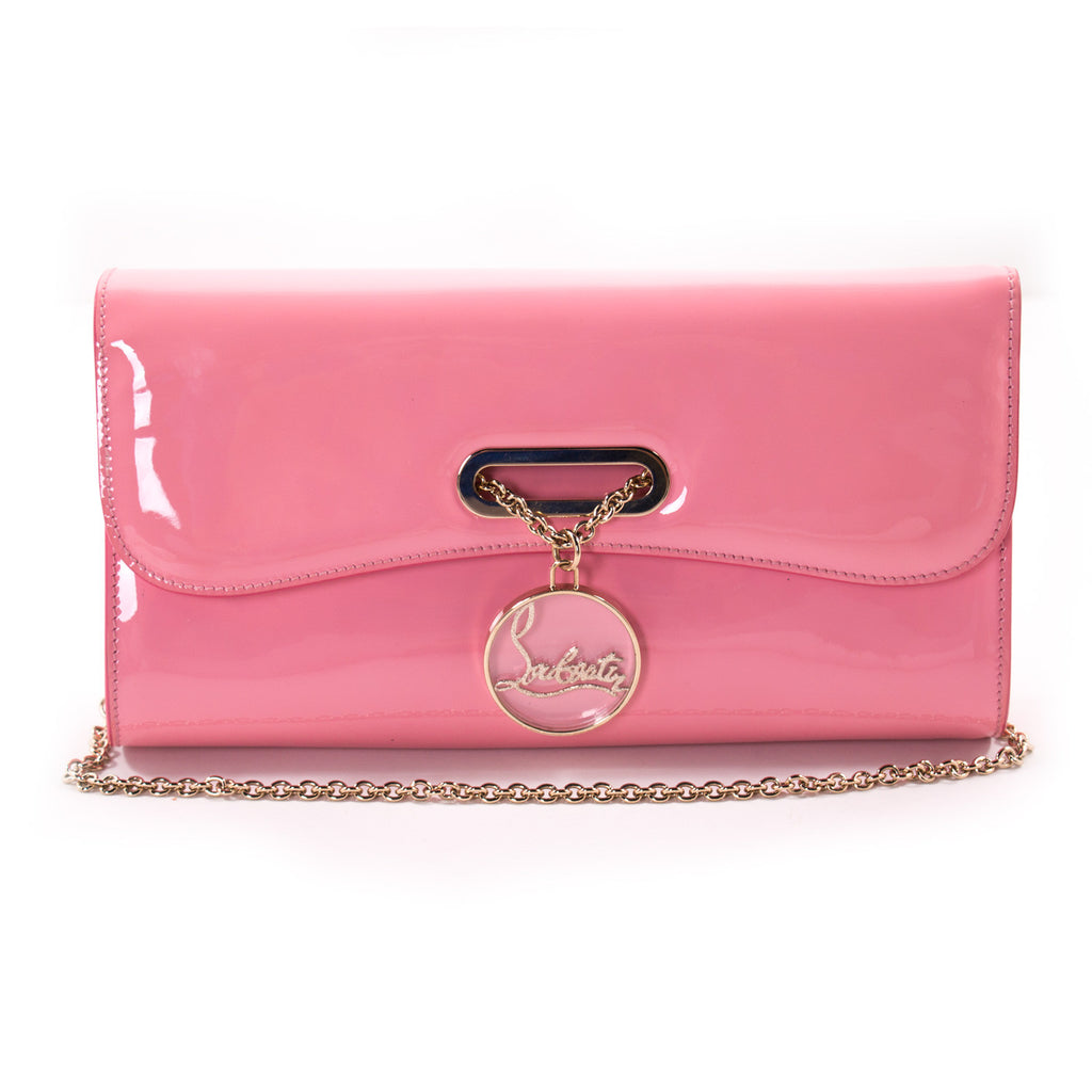 c8438e2dfca Shop authentic Christian Louboutin Riviera Clutch at revogue for just USD  450.00