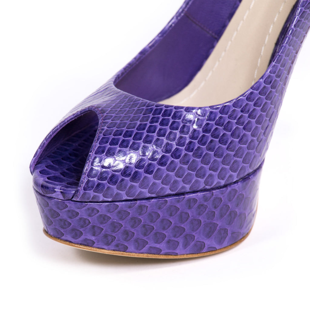 Dior Python Platform Shoes Dior - Shop authentic new pre-owned designer brands online at Re-Vogue