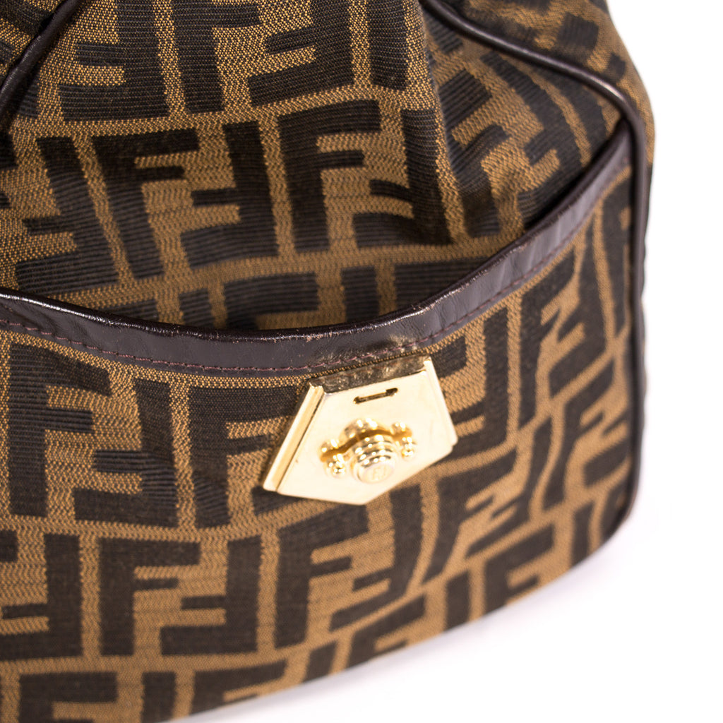 Fendi Zucca Boston Bag Bags Fendi - Shop authentic new pre-owned designer brands online at Re-Vogue