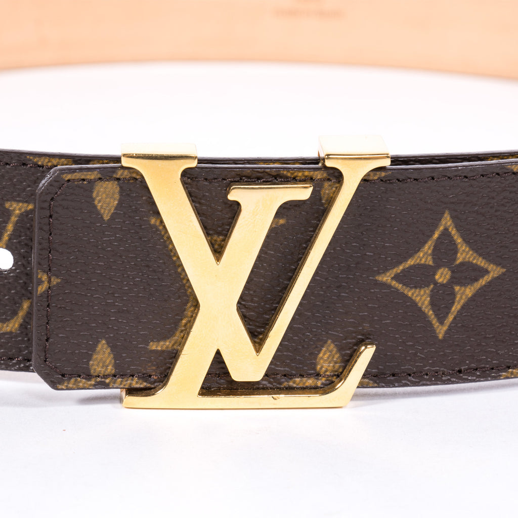 Louis Vuitton Initials Belt -Shop pre-owned luxury designer brands on discount online at Re-Vogue