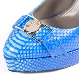 Versace Python Decollete Platform Shoes Versace - Shop authentic new pre-owned designer brands online at Re-Vogue