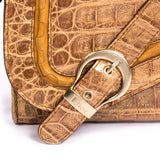 Dior Clutch Gaucho Crocodile Bags Dior - Shop authentic new pre-owned designer brands online at Re-Vogue