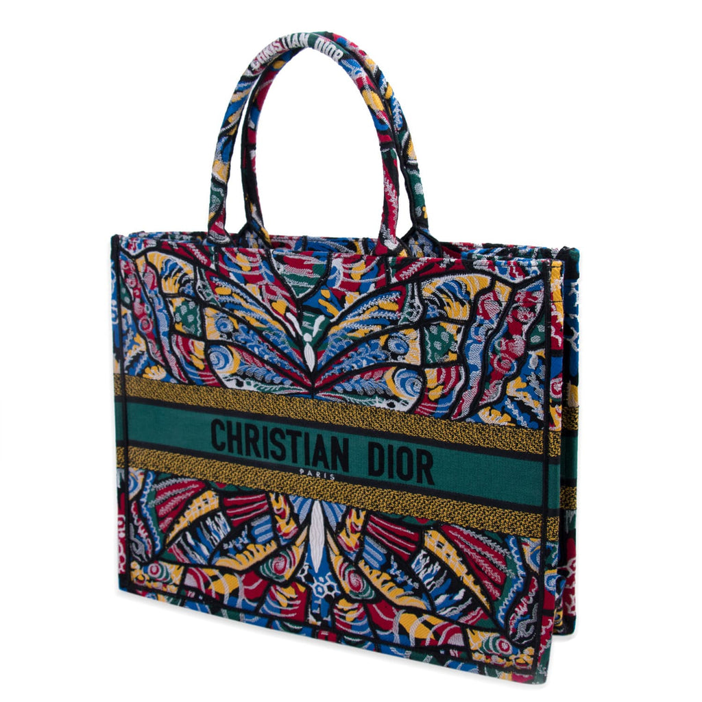 Christian Dior Embroidered Butterfly Booktote Bags Dior - Shop authentic new pre-owned designer brands online at Re-Vogue