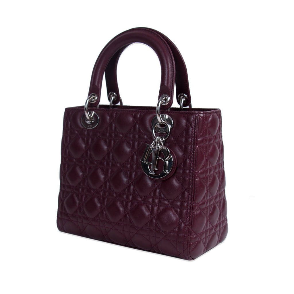 12e7f0d7f13 ... Christian Dior Medium Lady Dior Bag Bags Dior - Shop authentic new pre-owned  designer ...