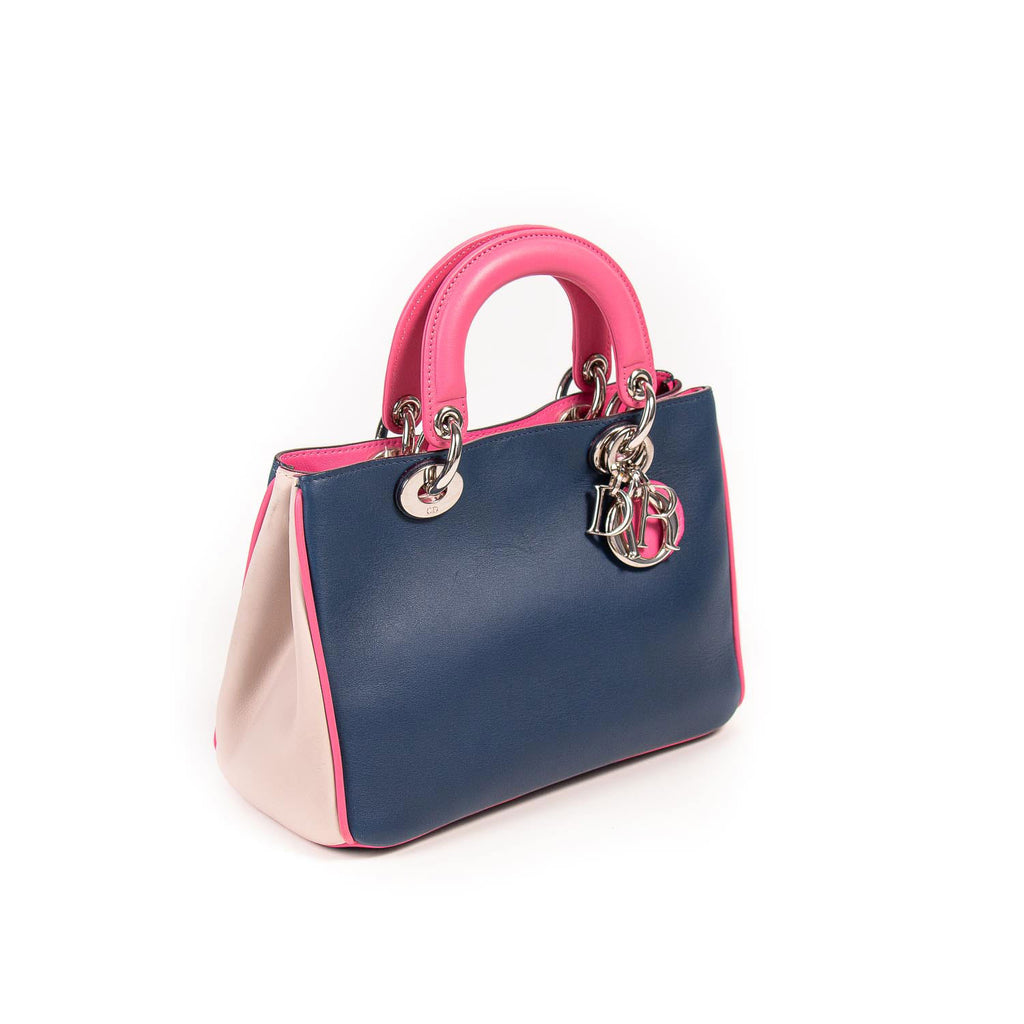 Christian Dior Tricolor Mini Diorissimo Bag Bags Dior - Shop authentic new pre-owned designer brands online at Re-Vogue