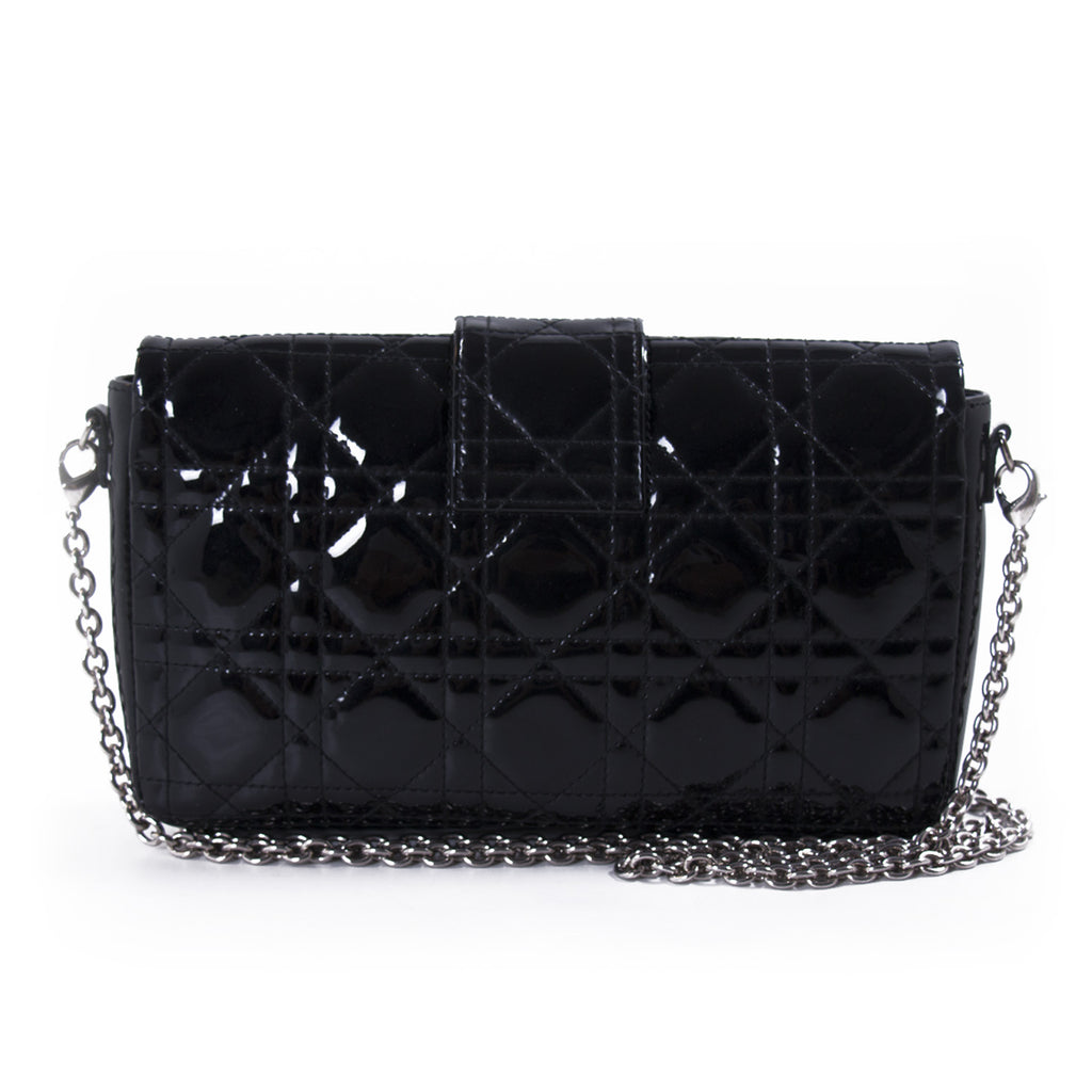 Christian Dior Miss Dior Patent Leather Flap Bag Bags Dior - Shop authentic new pre-owned designer brands online at Re-Vogue