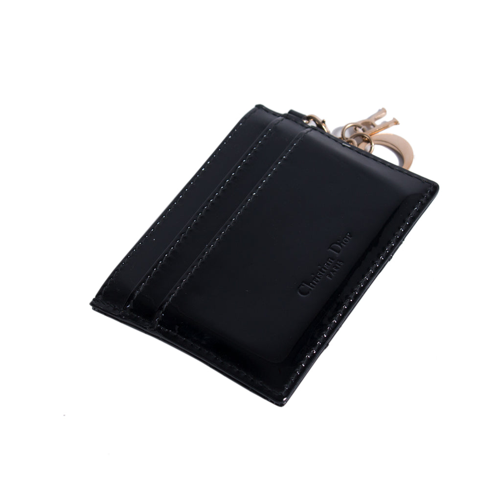 Christian Dior Lady Dior Card Holder Accessories Dior - Shop authentic new pre-owned designer brands online at Re-Vogue