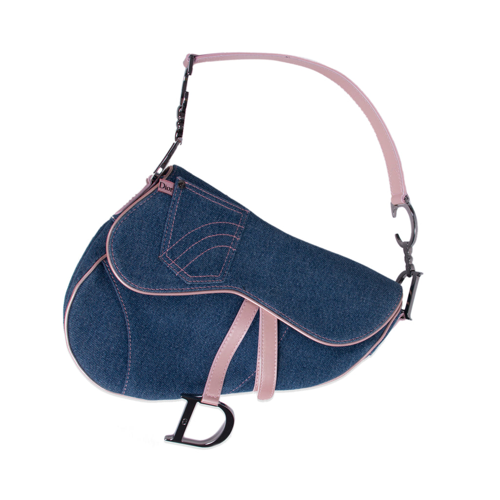 Christian Dior Jeans Saddle Bag Bags Dior - Shop authentic new pre-owned designer brands online at Re-Vogue