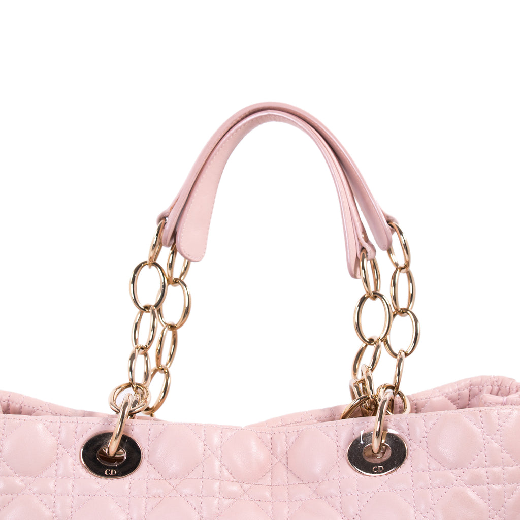 Christian Dior Large Soft Shopper Tote Bags Dior - Shop authentic new pre-owned designer brands online at Re-Vogue