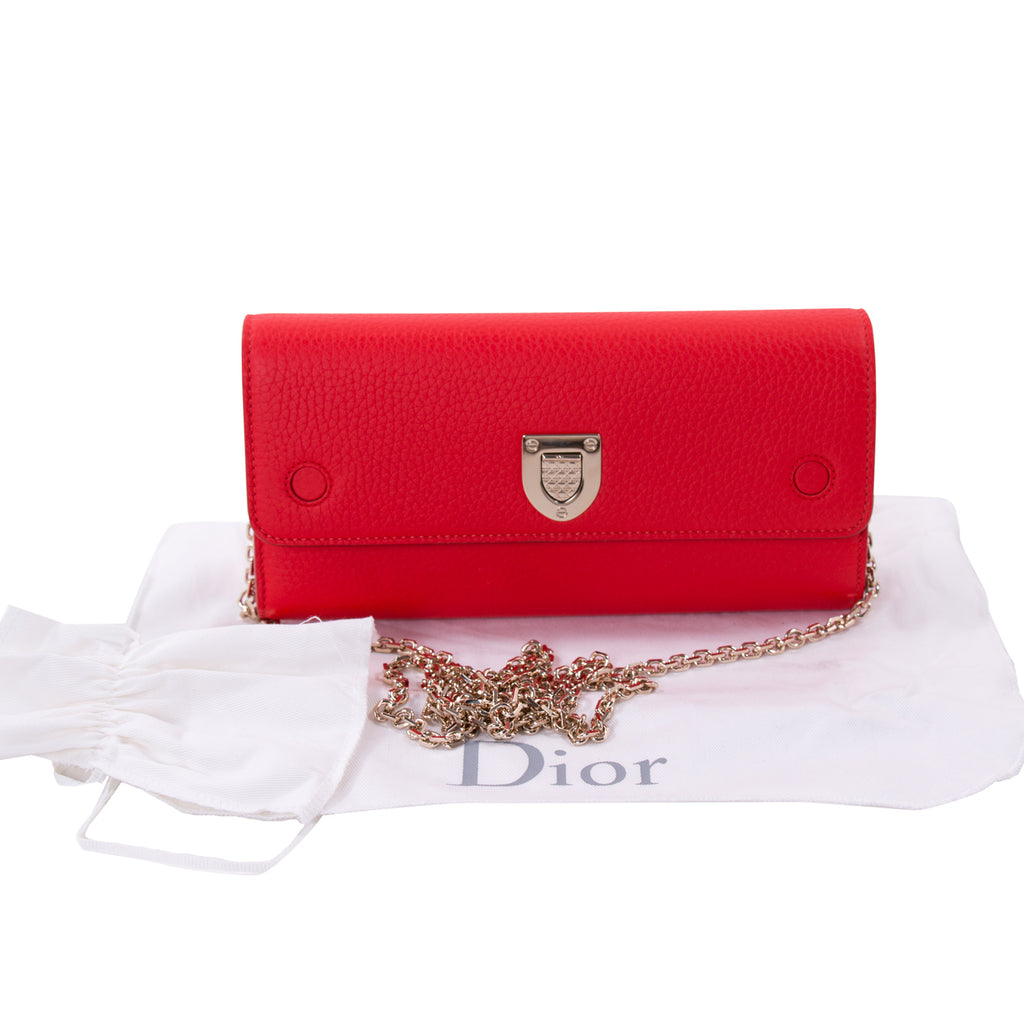 Christian Dior Diorever Croisiere Wallet on Chain Bags Dior - Shop authentic new pre-owned designer brands online at Re-Vogue