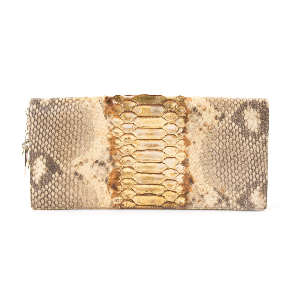 Christian Dior Lady Dior Python Clutch Bags Dior - Shop authentic new pre-owned designer brands online at Re-Vogue