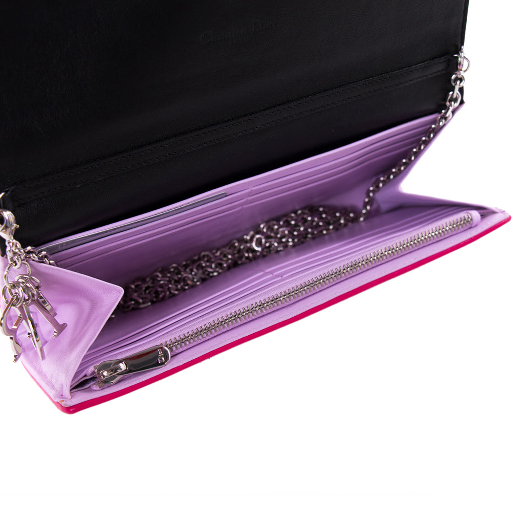 Christian Dior Lady Dior Chain Clutch Bags Dior - Shop authentic new pre-owned designer brands online at Re-Vogue
