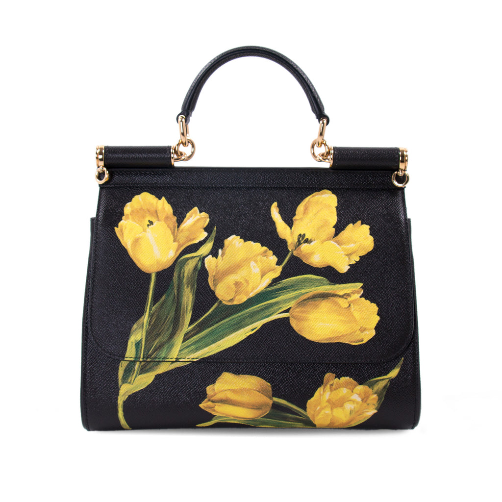 be1410e5ef Dolce   Gabbana Tulip Prints Sicily Bag Bags Dolce   Gabbana - Shop  authentic new pre