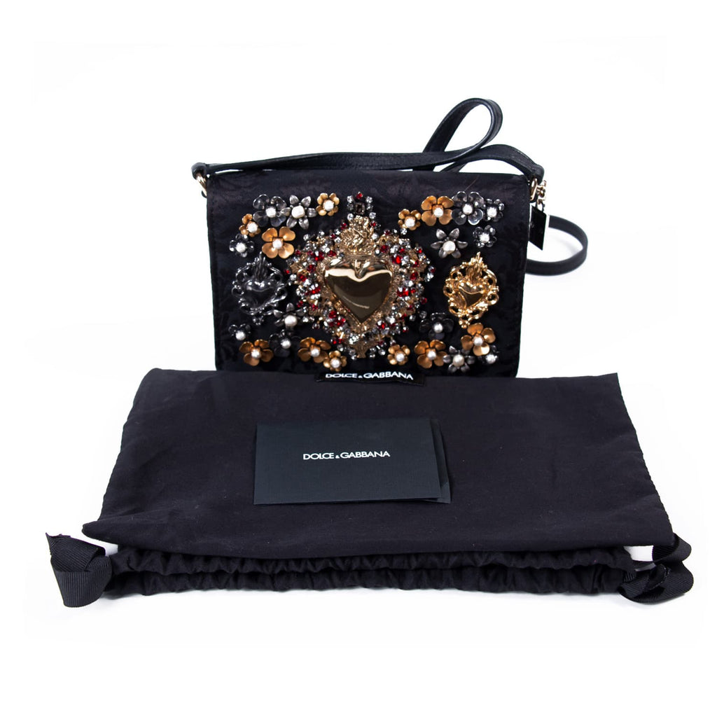 Dolce & Gabbana Mini Embroidered Bag Bags Dolce & Gabbana - Shop authentic new pre-owned designer brands online at Re-Vogue