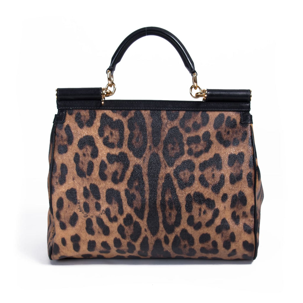 Dolce&Gabbana Leopard Print Miss Sicily Bags Dolce & Gabbana - Shop authentic new pre-owned designer brands online at Re-Vogue