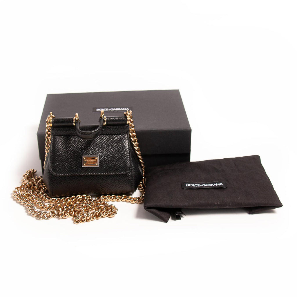 Dolce&Gabbana Micro Miss Sicily Bags Dolce & Gabbana - Shop authentic new pre-owned designer brands online at Re-Vogue