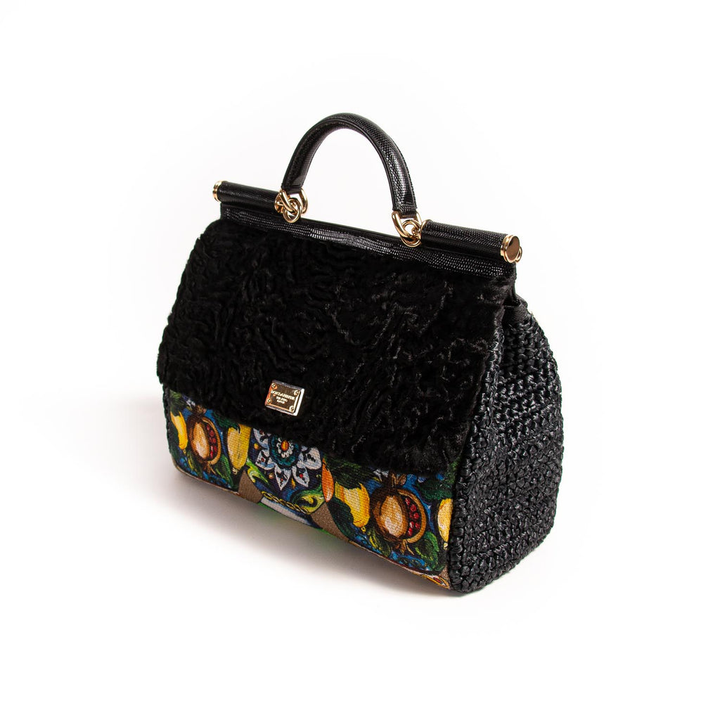 Dolce&Gabbana Embroidered Large Sicily Bag Bags Dolce & Gabbana - Shop authentic new pre-owned designer brands online at Re-Vogue