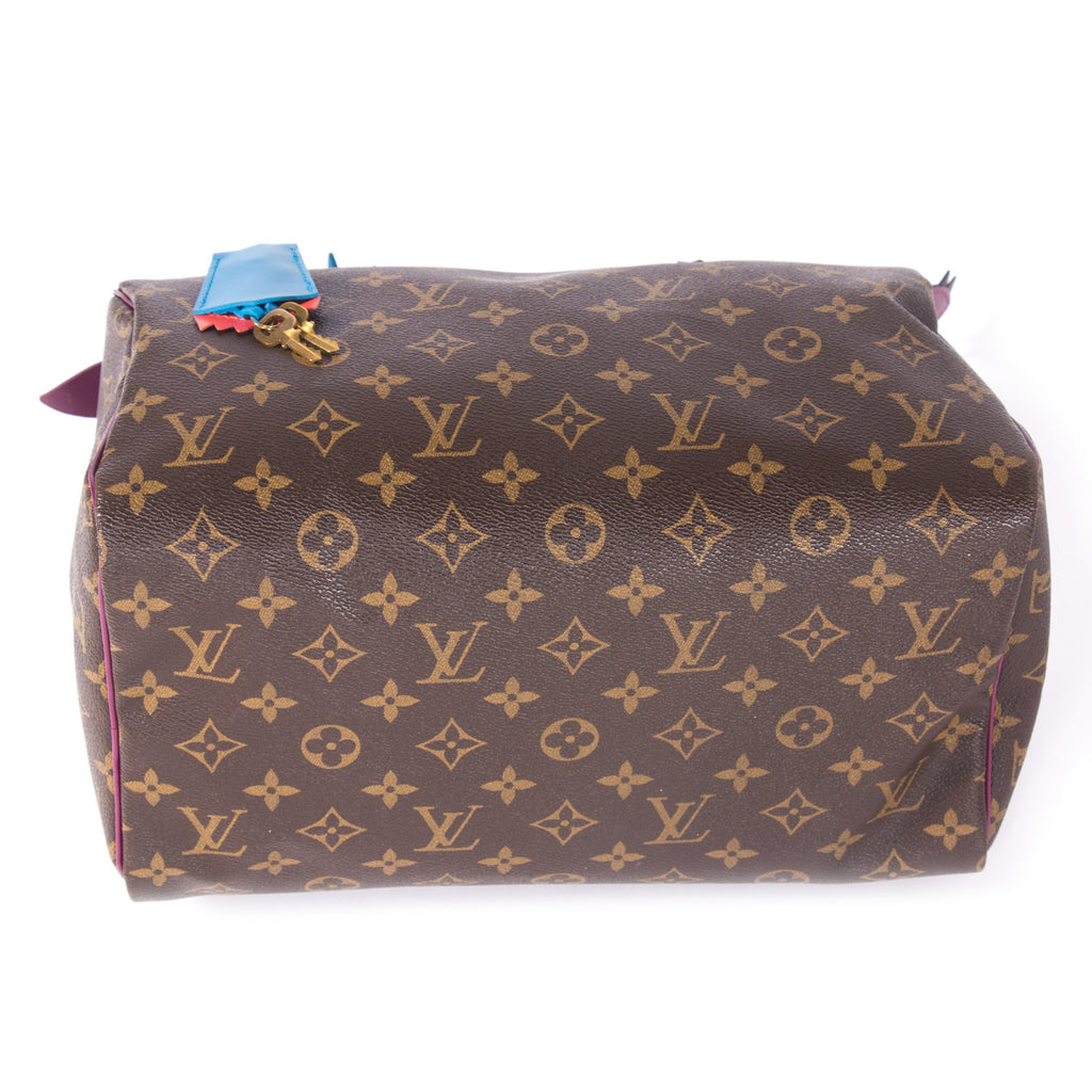 Louis Vuitton Speedy 30 Totem Bags Louis Vuitton - Shop authentic new pre-owned designer brands online at Re-Vogue