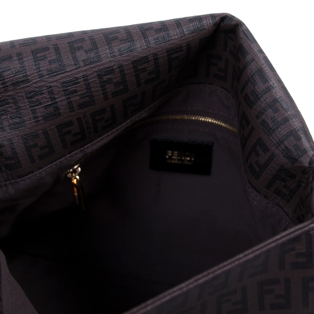 Fendi Zucca Mama Flap Bag Bags Fendi - Shop authentic new pre-owned designer brands online at Re-Vogue