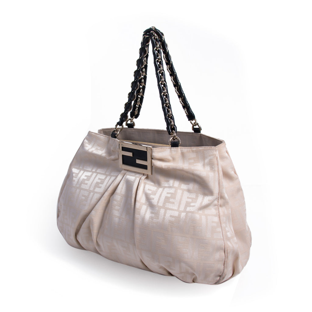 Fendi Mia Large Zucca Canvas Bag Bags Fendi - Shop authentic new pre-owned designer brands online at Re-Vogue
