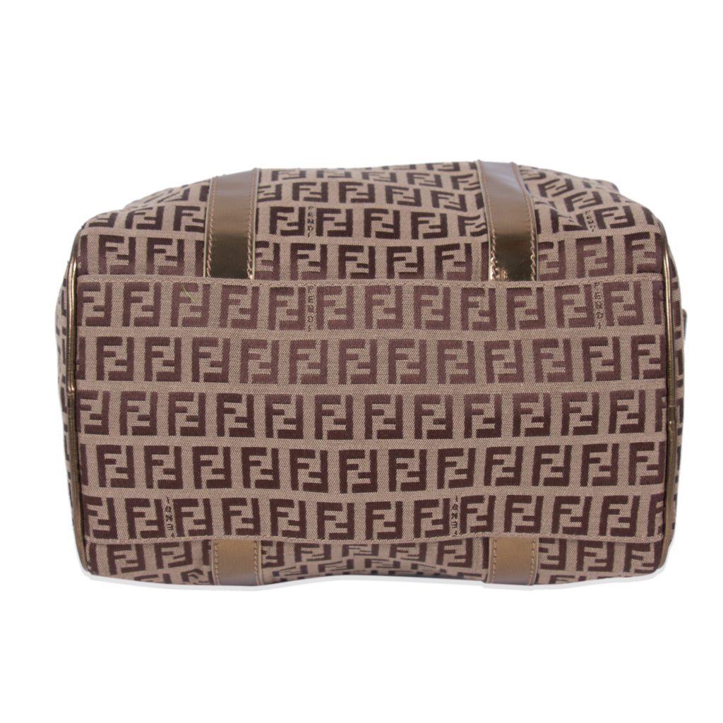Fendi Zucca Spalmati Boston Bag Bags Fendi - Shop authentic new pre-owned designer brands online at Re-Vogue