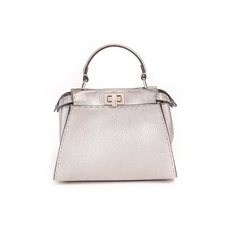 Chloé Snakeskin Medium Elle Bag