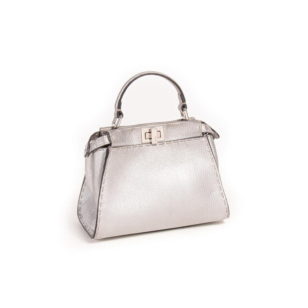 Fendi Peekaboo Selleria Mini Bag