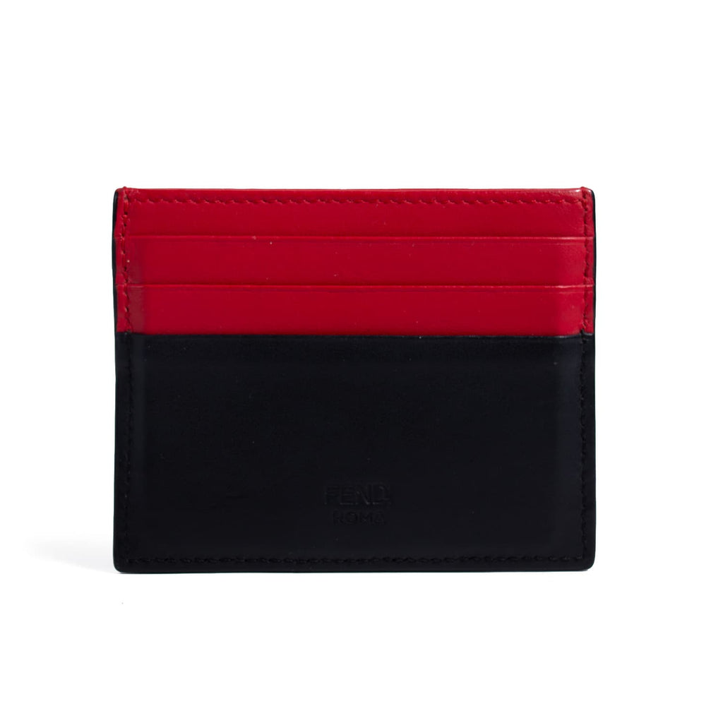 Fendi Monster Leather Card Holder Accessories Fendi - Shop authentic new pre-owned designer brands online at Re-Vogue