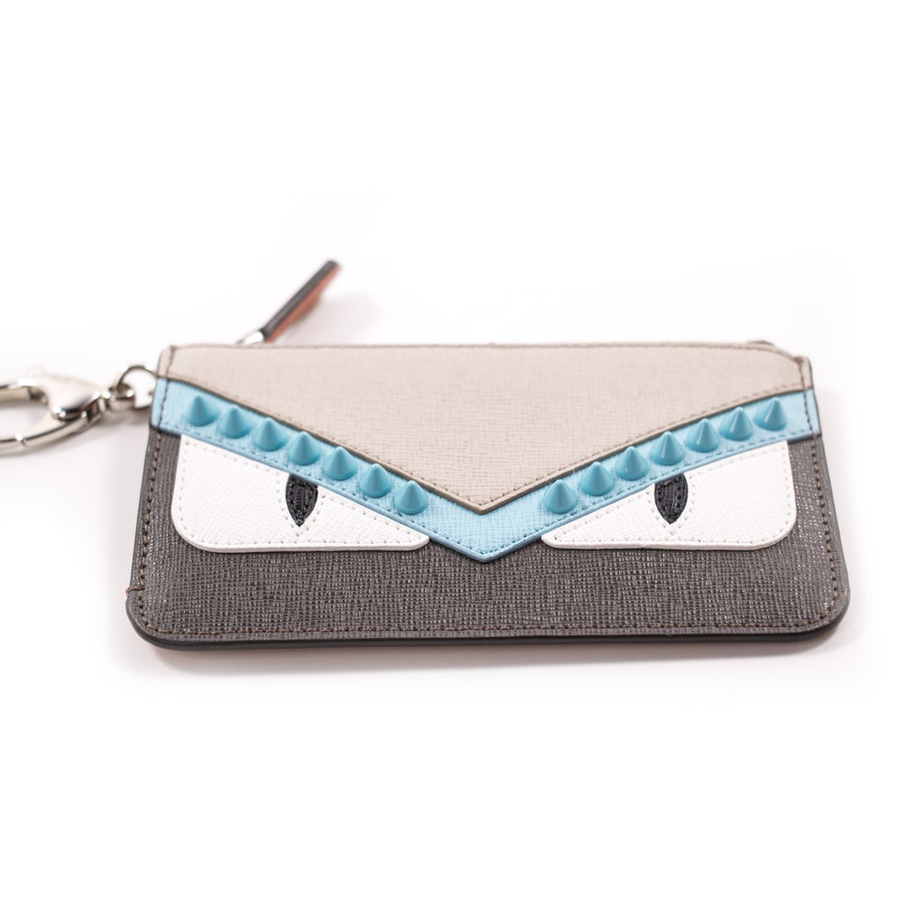 Fendi Monster Vitello Elite Leather Key Case Accessories Fendi - Shop authentic new pre-owned designer brands online at Re-Vogue