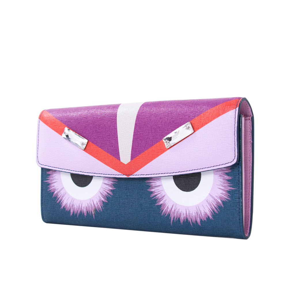 Fendi Monster Continental Wallet Bags Fendi - Shop authentic new pre-owned designer brands online at Re-Vogue