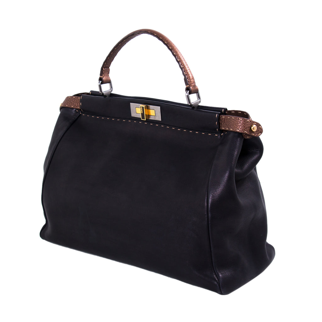 Fendi Peekaboo Selleria Large Bag Bags Fendi - Shop authentic new pre-owned designer brands online at Re-Vogue
