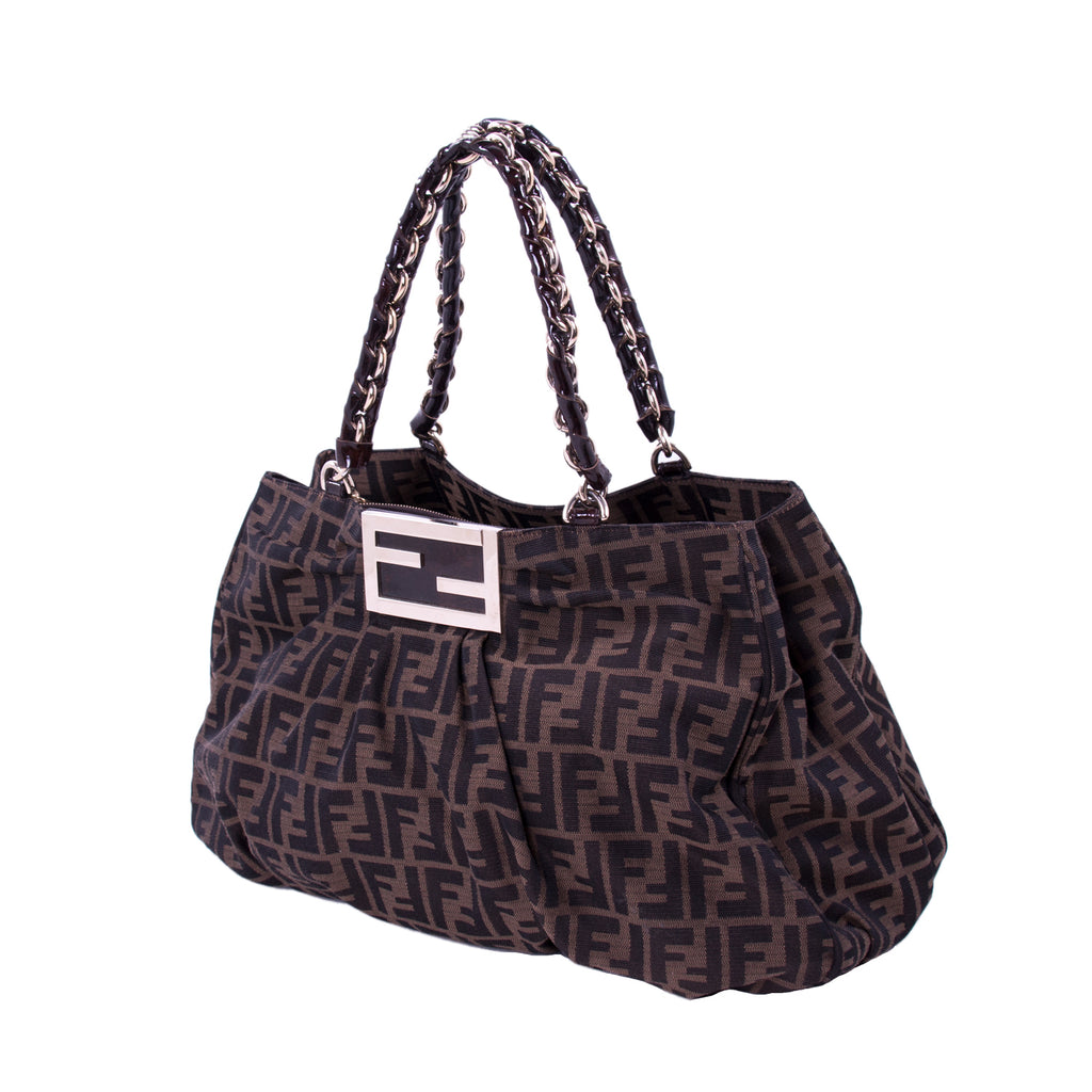 7a1103f4235c ... Fendi Mia Zucca Large Canvas Bag Bags Fendi - Shop authentic new  pre-owned designer ...