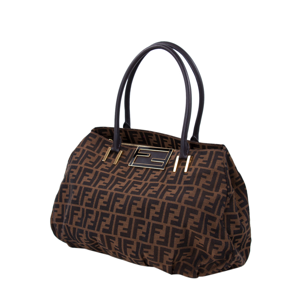 efc5fbd49362 ... Fendi Zucca Canvas Hobo Bag Bags Fendi - Shop authentic new pre-owned  designer brands ...